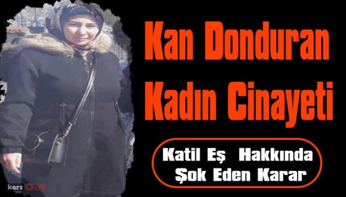 Ardahan'da Eşini Öldüren Koca Serbest Bırakıldı