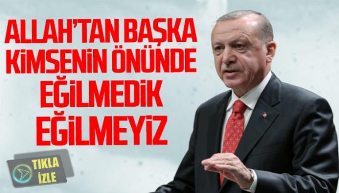 Erdoğan'dan 'Kısa Bir Hatırlatma'