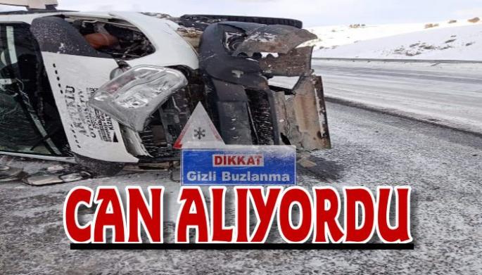 Gizli buzlanma kazalara neden oldu