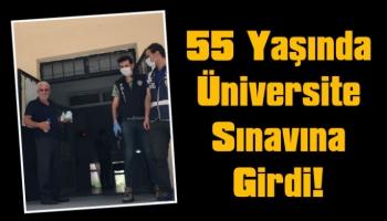 55 yaşında üniversite sınavına girdi!