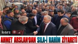 Ahmet Arslan'dan Sıla-İ Rahim Ziyareti