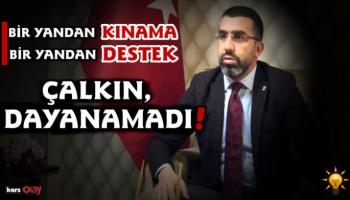AK Parti Kars İl Başkanı Adem Çalkın'dan tepki
