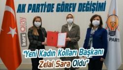 AK Parti Kars Kadın Kolları Başkan Zelal Sara Oldu