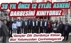 AK Parti Kars'ta 12 Eylül Kınama Açıklaması