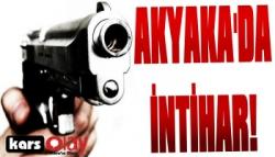 Akyaka'da İntihar!