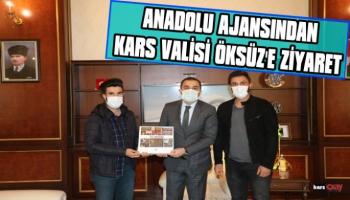Anadolu Ajansı Temsilcilerinden Kars Valisi Türker Öksüz'e Ziyaret