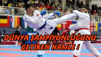 Ardahanlı Eray Şamdan Dünya Şampiyonu oldu