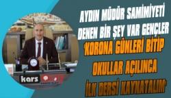 Aydın Acay Okullar Açılınca İlk Ders Yok Dedi ve Ekledi...