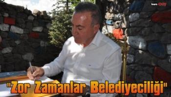 Başkan Alibeyoğlu, 'Zor Zamanlar Belediyeciliği'ni Anlattı