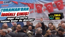 CHP Adayı Taner Toraman'dan İddialı Çıkış