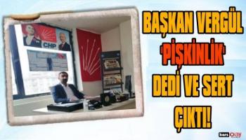 CHP Kars Gençlik Kolları Başkanı Uğurcan Vergül, Sert Çıktı!