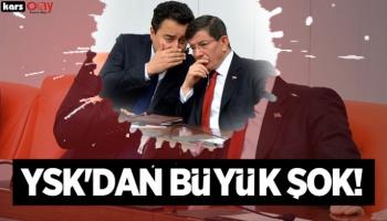 Deva ve Gelecek Partisi'ne YSK'dan büyük şok!