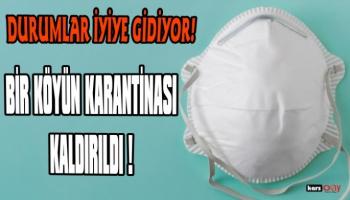 Digor Kocaköy'de uygulanan karantina kaldırıldı