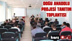 Doğu Anadolu Projesi Bilgilendirme Toplantısı Yapıldı.