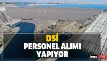 DSİ PERSONEL ALIYOR!