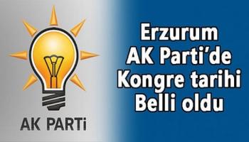 Erzurum AK Parti'de İl Kongre Tarihi Belli Oldu!