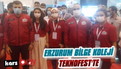 Erzurum'da Bilge Koleji'nin Teknofest Başarısı