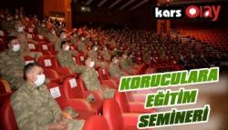 Erzurum'da Koruculara Eğitim Semineri