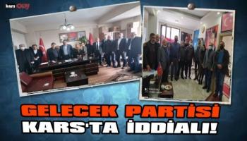 Gelecek Partisi Kars'ta Ziyaretlere Hız verdi!