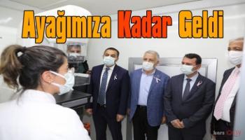Gezici Kanser Tarama Aracı Kars'ta Hizmete Girdi