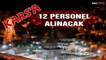 İçişleri Bakanlığı Kars'a 12 Personel Alacak