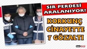IĞDIR'DA KAN DONDURAN KARI-KOCA CİNAYETİNDE 7 GÖZALTI!
