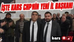 İşte Kars CHP'nin Yeni İl Başkanı