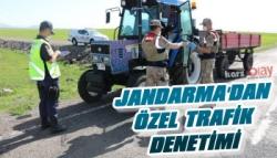 Jandarma'dan Kars'ta Özel Trafik Denetimi