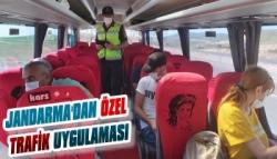 Jandarma'dan Özel Trafik Uygulaması