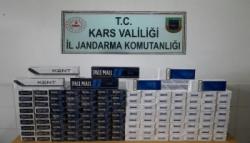 Jandarmadan Kaçak Sigaraya 33 Bin Lira Ceza