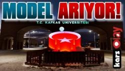 Kafkas Üniversitesi Model Arıyor