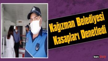 Kağızman Belediyesi Zabıta Ekipleri Kasapları Denetledi