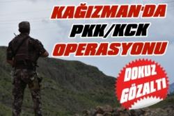 Kağızman'da PKK / KCK Operasyonu