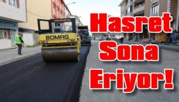 Kars Belediyesi Asfalt Serim Çalışmalarına Başladı