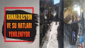 Kars Belediyesi, Su ve Kanalizasyon Hatlarını Yeniliyor