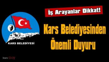 Kars Belediyesi Uyardı, Umut tacirlerinin tuzağına düşmeyin!