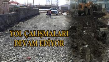 Kars Belediyesi yol çalışmalarına aralıksız devam ediyor