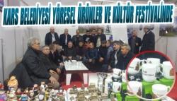 Kars Belediyesi Yöresel Ürünler ve Kültür Festivalinde