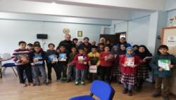 Kars Emniyeti Kağızman'da Öğrencileri Bilgilendirdi