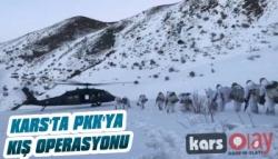Kars'ta PKK'ya Kış Operasyonu