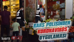 Kars Polisinden Koronavirüs Uygulaması