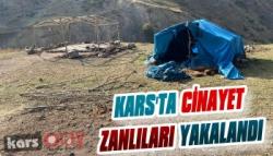 Kars'ta Cinayet Zanlıları Yakalandı