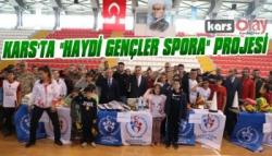Kars'ta 'Haydi Gençler Spora' Projesi