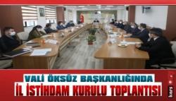 Kars'ta İl İstihdam Kurulu Toplantısı
