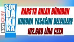 Kars'ta İskambil Oyununa 102.688 Lira Ceza
