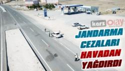 Kars'ta Jandarma'dan Binlerce Lira Ceza