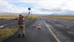 Kars'ta Jandarmadan Özel Trafik Denetimi