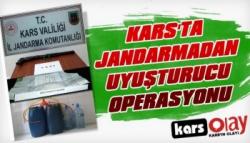Kars'ta Jandarmadan Uyuşturucu Operasyonu