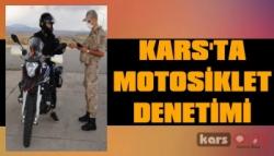 Kars'ta Motosikletler Denetlendi