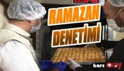 Kars'ta Ramazan Bayramı Denetimi